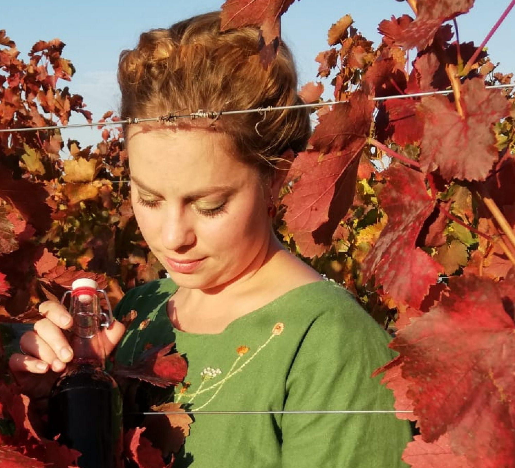 Kräuter küsst Wein